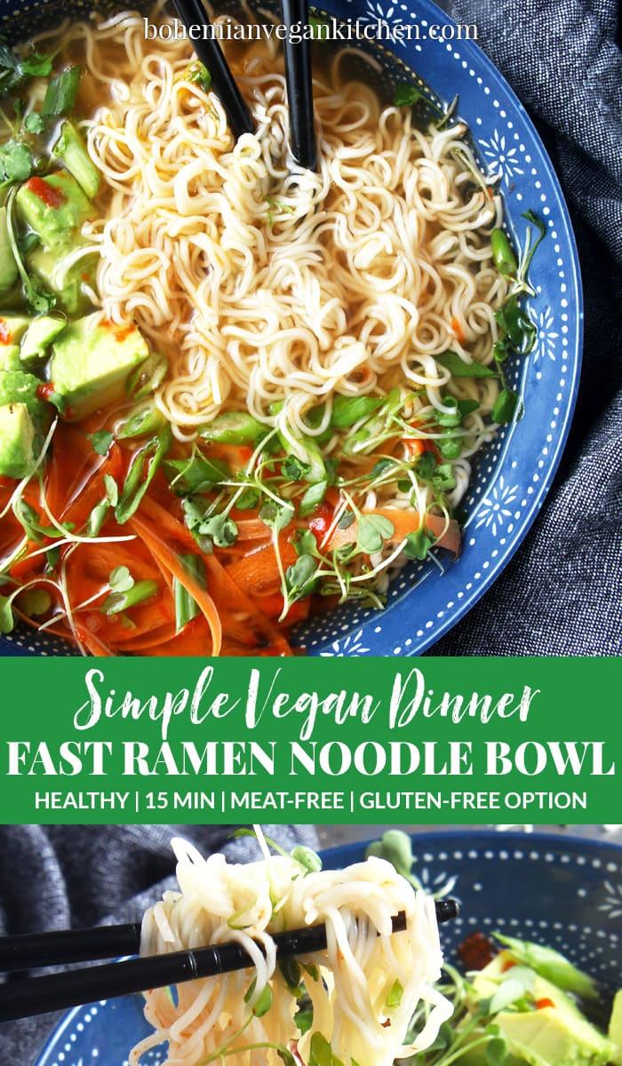 my favorite way to make killer vegan ramen noodles
